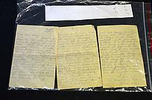 Australian Soldier's Letter from Egypt 1916