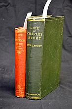 Biographies of Eyre and Sturt
