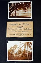 New Caledonia photo album, 1929.