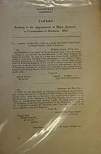 Miscellaneous Parliamentary papers 1726-1871