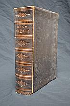 Family Bible Mid Nineteenth Century