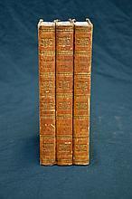 1824 Sir Walter Scott  St Ronan's Well First Edition Triple Decker