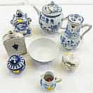 SELECTION OF VARIOUS CHINESE BLUE AND WHITE