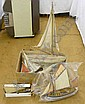 2 POND YACHTS & VARIOUS OTHERS INCLUDING ROSEWOOD