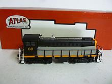 LOCOMOTIVE: SOUTHERN PACIFIC (T&NO;) ROAD #69 LOCOMOTIVE: SOUTHERN PACIFIC (T&NO;) ROAD #69, NEW IN BOX. BY ATLAS