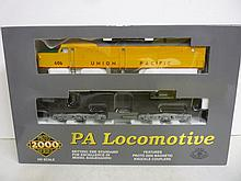 PA LOCOMOTIVE: WALTHERS, 920-40111 UP #606 PA LOCOMOTIVE: WALTHERS, 920-40111 UP #606 WITH MARS LIGHT. BRAND NEW IN PACKAGE! NEVER TAKEN OUT OF BOX.