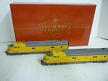 LOCOMOTIVE: BROADWAY LIMITED E6 A-A SET LOCOMOTIVE: BROADWAY LIMITED E6 A-A SET A-PWD UP #7-M-I & 7-M-2, HO, NEW IN BOX!