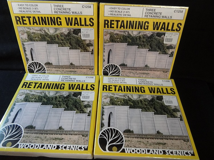 MODEL TRAIN BUILDINGS WOODLAND SCENICS HO SCALE