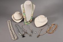 Ladies Beaded and Natural Stone Necklaces (8)