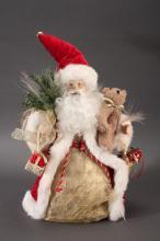 Light Up Santa Tree Topper