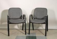 Upholstered Office Chairs (2)