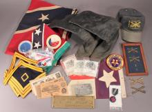 Reenactments Pins, Flags, and Boots