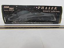 STAR TREK THE NEXT GENERATION PHASER NIB, UNIVERSAL REMOTE BY: TELEMANIA