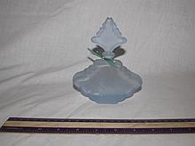 ART DECO BAGLEY GLASS PERFUME BOTTLE