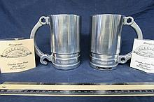 2 SNAP ON ALUMINUM BEER TANKARD (BOX WRENCH) THIS