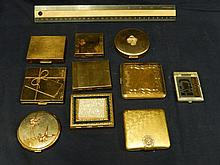VINTAGE COMPACTS ONE IS A ADDRESS BOOK & COMPACTS