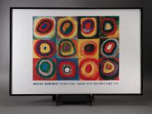 Framed Color Study Poster