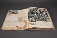 1943 Wartime Scrapbook