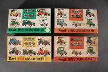 Revell Model Car Kits (4)