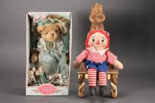 Collectible Bear & Doll (2)