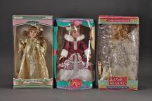 Collectible Porcelain Dolls (3)