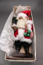 Mark Roberts Collection Santa Doll