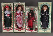 Limited Edition Porcelain Dolls (4)