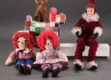 Vintage Plush Dolls (4)