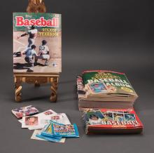 Baseball Sticker and Stamp Albums