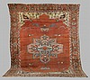 Antique Serapi Room Size Oriental Rug