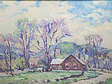 Arthur Gibbs Burton, attributed, (1883-1969), Vermont, oil on canvas