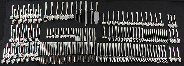 Sterling Silver Flatware Set for 12