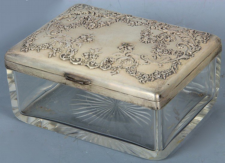 Howard & Co, Sterling and Glass Box