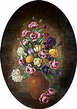 Henry L. Sanger Still Life of Flowers