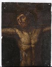 17th Century Northern Italian School painting of Christ