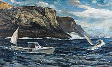 Andrew George Winter painting seascape