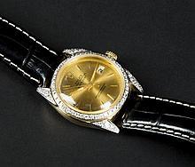 Rolex Men's 18k watch