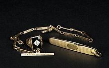 Three pieces of Men's Jewelry