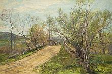Olive Parker Black Summer landscape