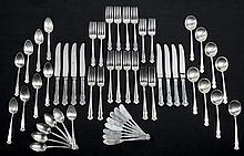 Lunt, Sterling Silver Flatware Set
