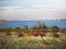 Albert Ernest (Beanie) Backus, coastal landscape