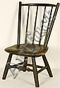 Early 19th century Child's Chair marked