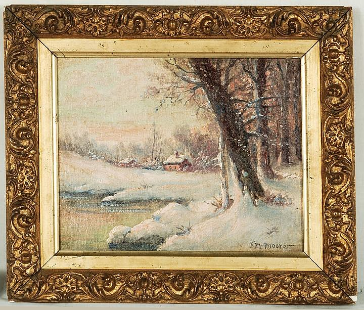 Thomas Manning Moore O/B Winterscape