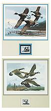 Two Michael Sieve Duck Stamp Prints