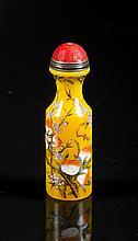 Chinese Enamel on Glass Snuff Bottle