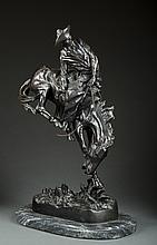 Reproduction Frederic Remington Bronze,