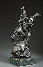 Reproduction Frederic Remington Bronze