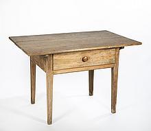 Walnut Pennsylvania Hepplewhite Tavern Table