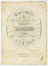 Rossini flute and violin duet, Early printing