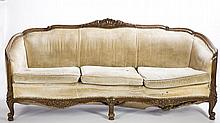 French Provincial Style Sofa